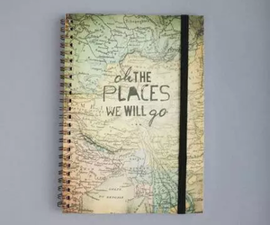 map, travel, and backpack image