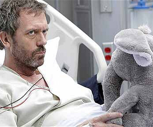 dr house, funny, and wtf image