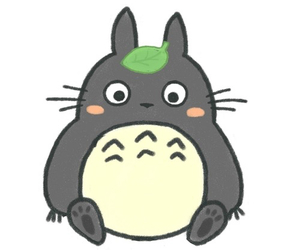 overlay, sweet, and totoro image