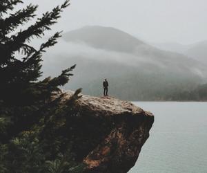 nature, adventure, and lake image