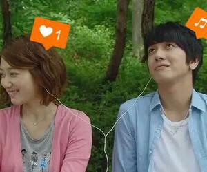 park shin hye, heartstrings, and jung yong hwa image