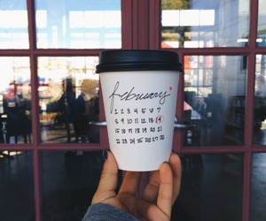february and coffee image