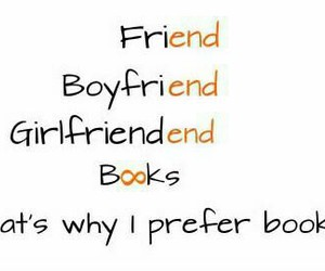 book, boyfriend, and friends image