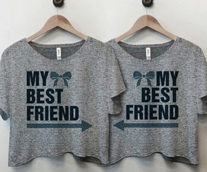 best friends, bff, and clothes image