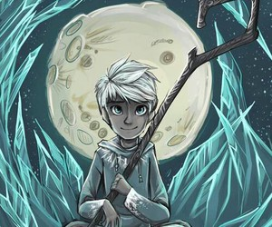 jack frost, moon, and rise of the guardians image
