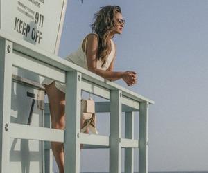 shay mitchell, beach, and beautiful image