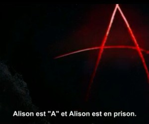 alison, a, and pretty little liars image