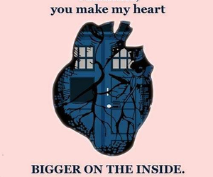 tardis and heart image