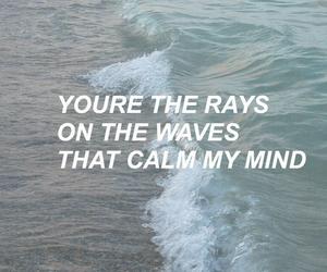 waves, one direction, and Lyrics image