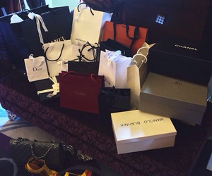 luxury, chanel, and shopping image