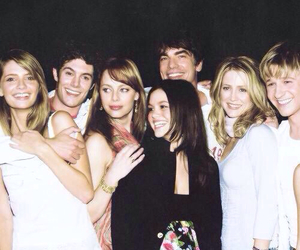 the oc, adam brody, and marissa cooper image