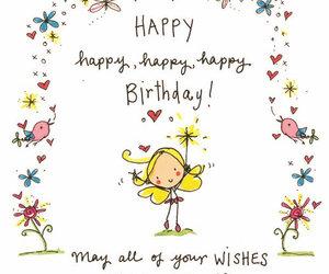 happy birthday, cartoon, and happy image