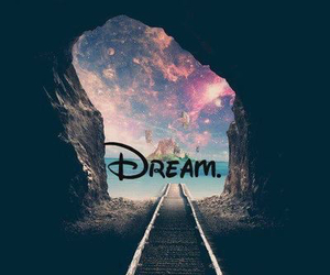Dream, galaxy, and paradise image