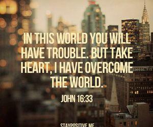 trouble, world, and god image