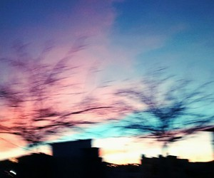 colors, pretty, and sky image