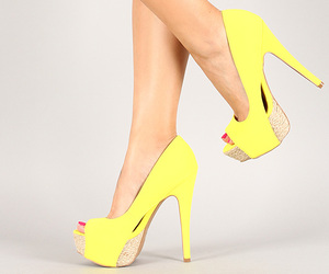 shoes, high heels, and model image