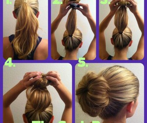 hairstyle, hair, and haircut image