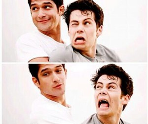 tyler posey, dylan o'brien, and o'brosey image