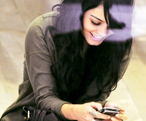 vanessa hudgens, smile, and phone image