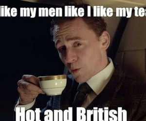 british, tom hiddleston, and men image
