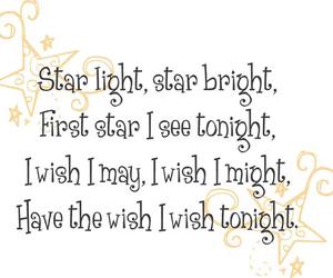 rhymes, starlight, and nursery image