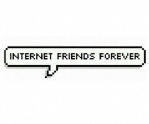 best friends, internet, and lol image