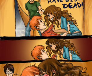 harry potter, hermione, and lol image