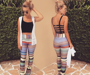 blonde, clothes, and legs image