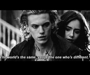 jace, mortal instruments, and lily collins image