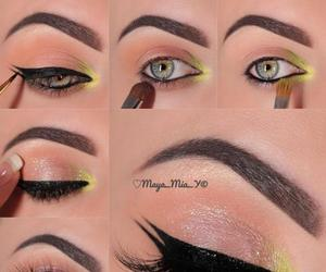 beautiful, lipstick, and makeup image
