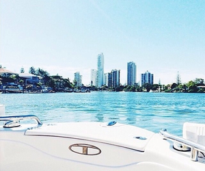 summer, luxury, and boat image