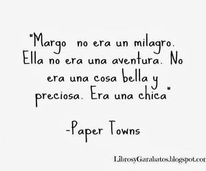 book, ciudades de papel, and paper towns image