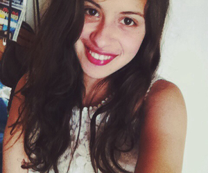 mariela, white, and selfie image