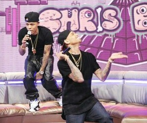 chris brown, bow wow, and funny image