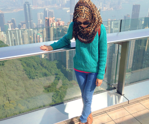 beautiful, girl, and hongkong image