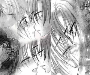happy together, kiss, and manga image