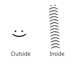 sad, inside, and outside image