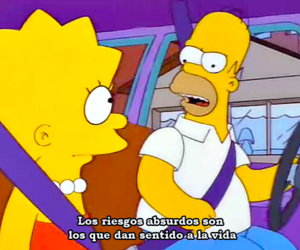 frases, homer, and vida image