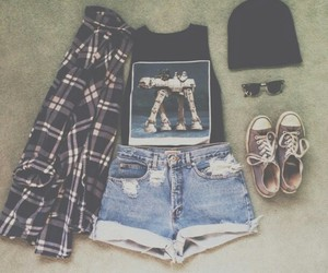 fashion, outfit, and hipster image
