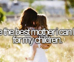 children, mother, and bucket list image