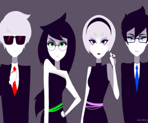 homestuck, jade, and dave image