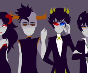 homestuck, aradia, and tavros image