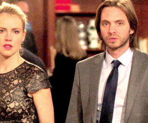 twelve monkeys, aaron stanford, and amanda schull image