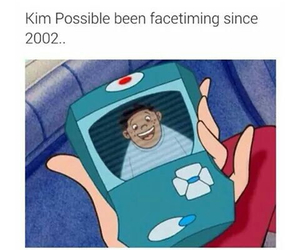 kim possible, funny, and facetime image