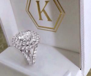 luxury, diamond, and ring image