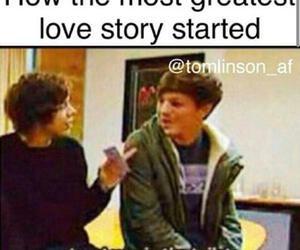 louis tomlinson, Harry Styles, and love image