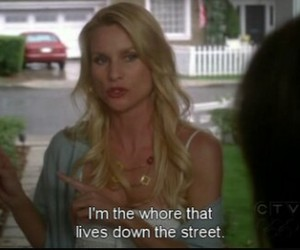 quotes, whore, and Desperate Housewives image