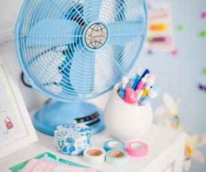 fan, tape, and ventilator image