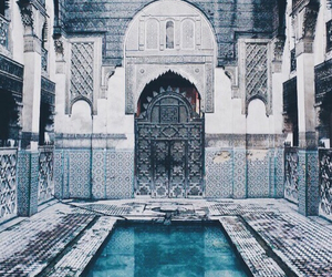 travel, blue, and pool image
