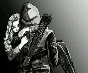 arrow, olicity, and felicity smoak image